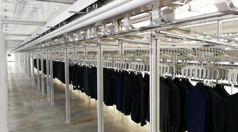 unit production conveyor