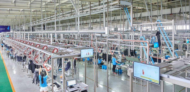 RFID processing conveyor