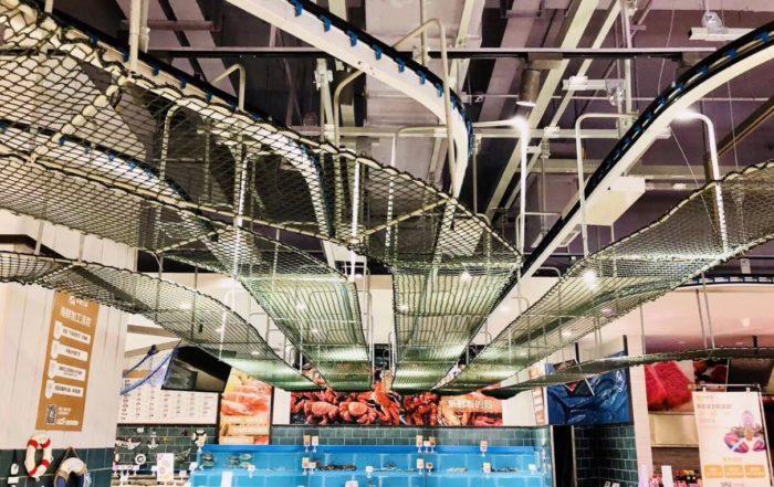 restaurant overhead conveyor solution
