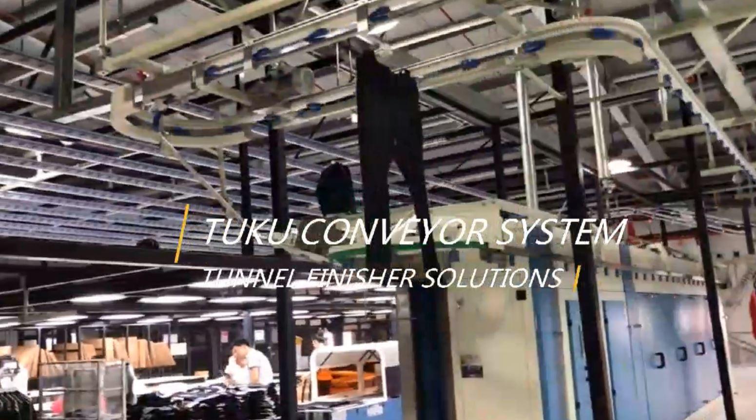 Tunnel Finisher Conveyor