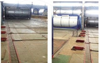 ISO Tank Containers Conveyor