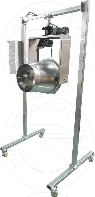 industry dust lint clean fan
