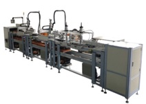 Air filter production equipment