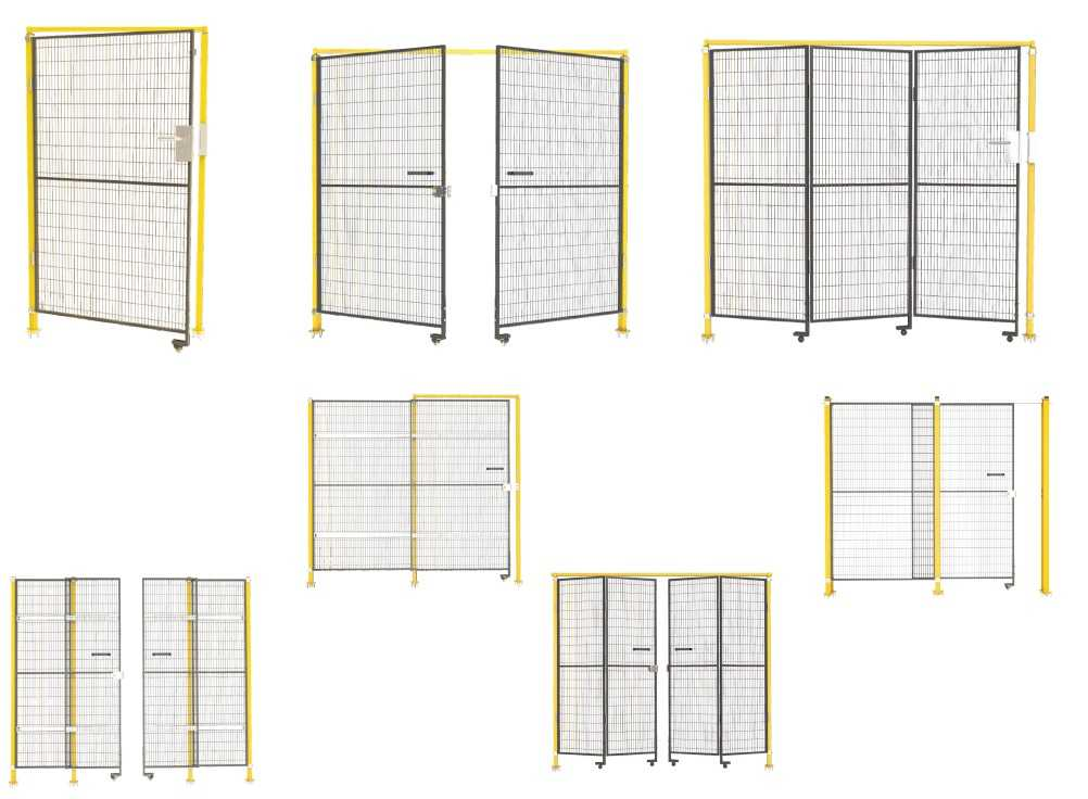 Machine Safety Guards Wire Mesh Partitions & Fencing door