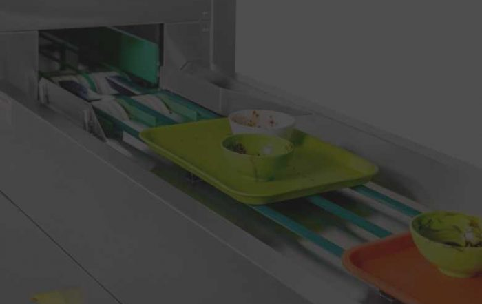 dishwasher conveyor