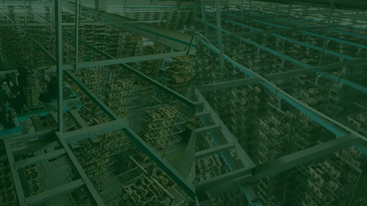Molded Paper-Pulp Drying Conveyor