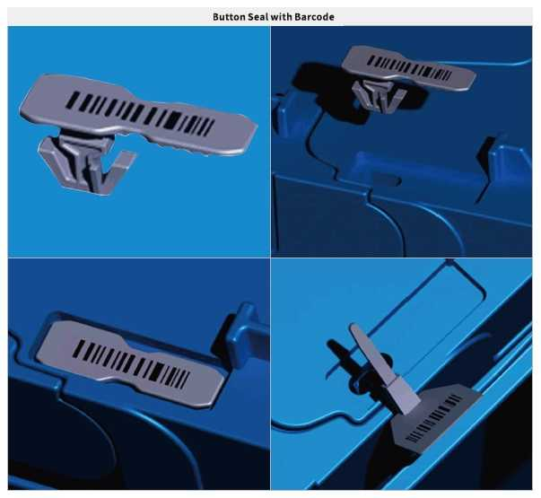 LOGISTIC CONTAINER bARCODE LOCK