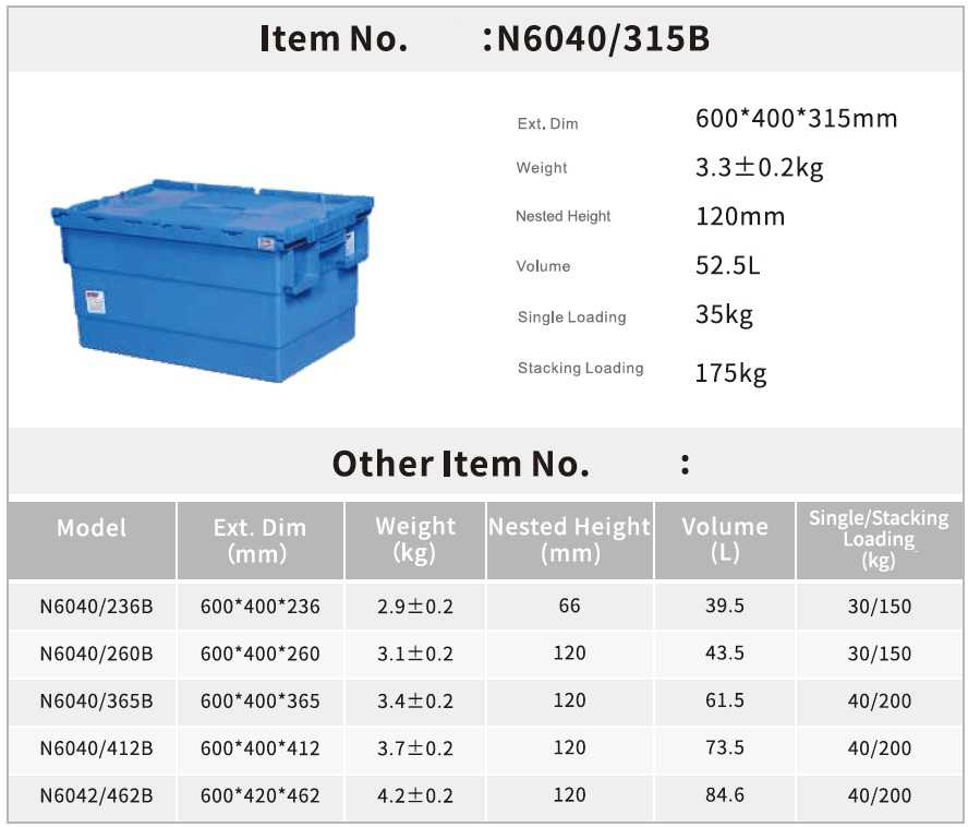 LOGISTIC CONTAINER1-1-6040315