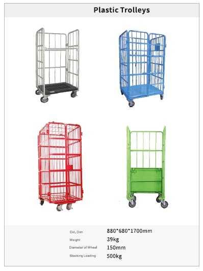 PLASTIC trolley size
