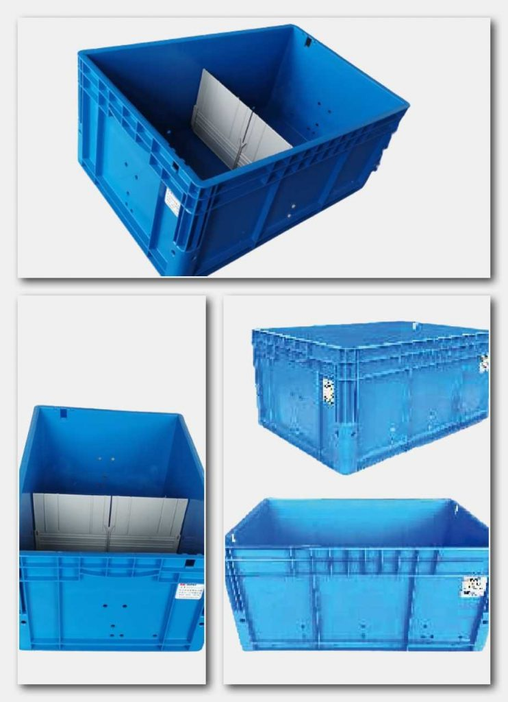 STACKING CONTAINERS FOR MINI-LOAD