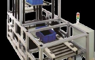 rubber block chain vertical conveyor