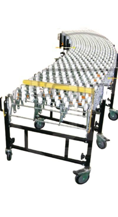 skate wheel conveyor expandable