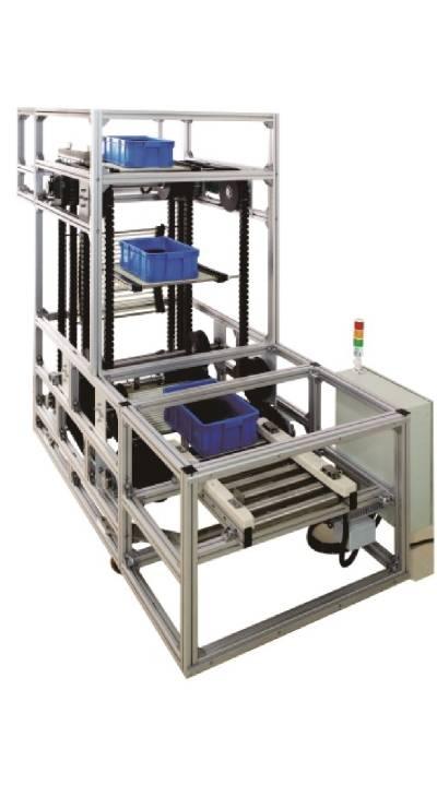 vertical lifter rubber plastic chain
